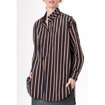 Humanoid dames blouse Bine stripe