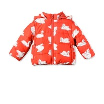 Stella McCartney kids Hubert Baby Puffer Swans