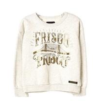 Turner heather ecru frisco sweatshirt