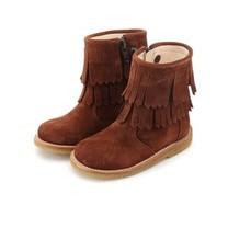 Angulus Boot franjes cognac