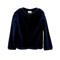 Long Live the Queen Terry sweater dark blue