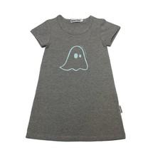 Broer & Zus Broer & Zus grijs meisjes jurkje spookje