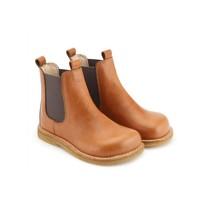 Angulus Chelsea boots cognac