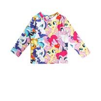 Au Jour le Jour meisjes t-shirt all-over pony