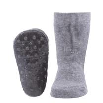 Ewers Lichtgrijze anti-slip sokken
