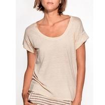 Humanoid vanille linnen shirt Eve Vanille