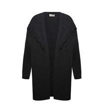 Famke cardigan dark grey