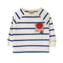 Bobo Choses Breton stripes 3/4 sleeve t shirt