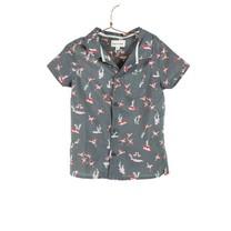 Flamingos printed shirt