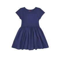 Bonton Meisjes jurkje tricot blauw
