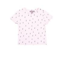 Emile et Ida Rosa floral tee shirt