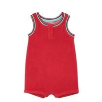 Bonton Baby suit teddy rood