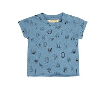 Soft Gallery Baby Ashton emoji t-shirt