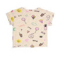 Soft Gallery Nelly t-shirt cream