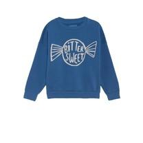 Bobo Choses Sweater Bitter sweet blauw