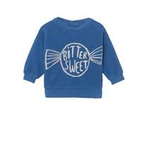Bobo Choses Baby Sweater Bitter sweet blauw