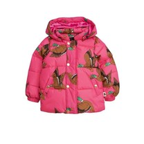 Mini Rodini Jas Ducks roze