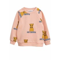 Mini Rodini Sweater Cat campus roze