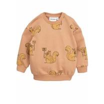 Mini Rodini Sweater Squirrel beige