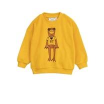 Mini Rodini Sweater Frog geel