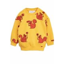 Mini Rodini Sweater Squirrel geel