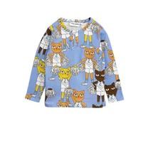 Mini Rodini Shirt Cheercats blauw