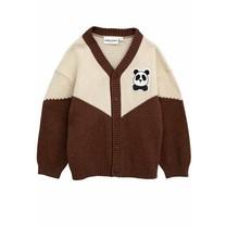 Mini Rodini Vest Panda wol