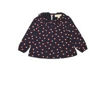 Baby blouse Heartfly blauw