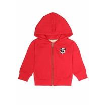 Baby vest Panda rood