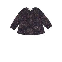 Soft Gallery Baby blouse Sprinkle zwart