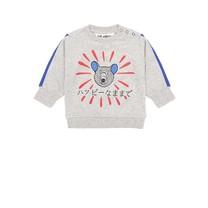 Soft Gallery Baby sweater Habbybear grijs