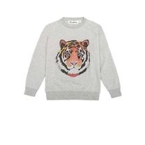 Soft Gallery Sweater Tigerart grijs