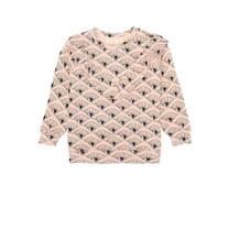 Soft Gallery Meisjes sweater Eyefan roze