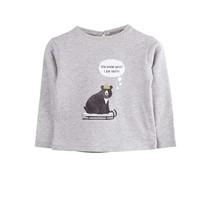 Emile et Ida Baby shirt grijs ourson