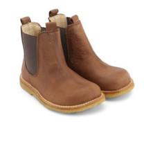 Angulus Chelsea boots dark cognac