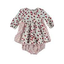 Stella McCartney kids Fleur baby jurk Lady bugs