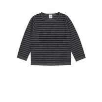 FUB Striped shirt grijs blauw