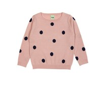 FUB Dots sweater roze