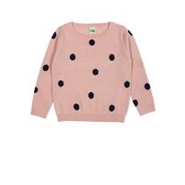FUB Dots sweater roze