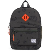 Herschel Heritage Youth Bandana Paisley/Vermillion Orange