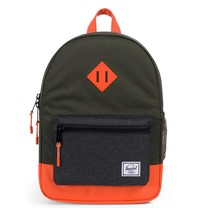 Herschel Heritage Youth Forest Night/Black Crossh/Vermillion Orange