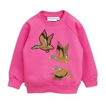 Mini Rodini Duck sp sweatshirt cerise