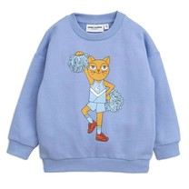Mini Rodini Cheercat sp sweatshirt blue