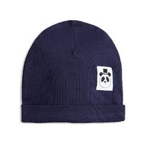 Mini Rodini Basic baby beanie navy