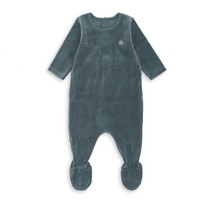 Bonton Baby pakje velours blauw