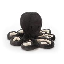 Jellycat Inky octopus grey knuffel