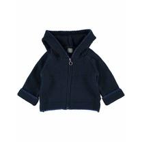Jules baby vest dark blue