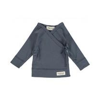 MARMAR Baby overslagshirt Tut blue