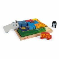 Janod Dieren evenwichtsspel & puzzel