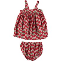 Stella McCartney kids Baby Jurk Cherries